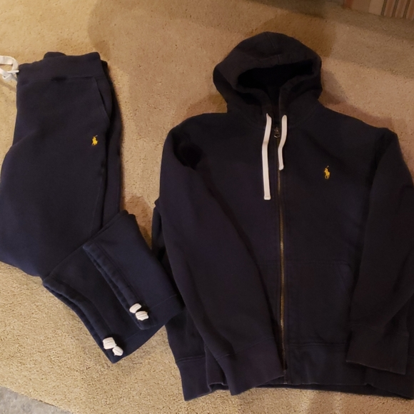 Polo by Ralph Lauren Other - Polo hoodie and pants set
